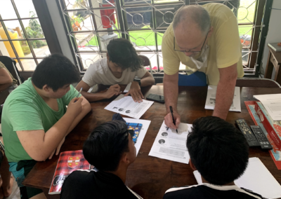 English Class at Transition Home
